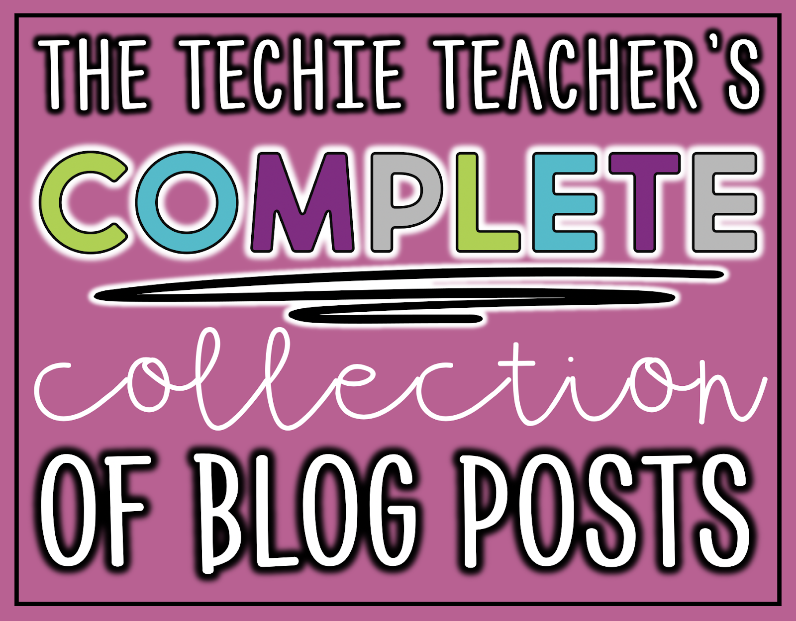 The Techie Teacher's Complete Collection of Blog Posts: This easy to use database that was created in Google Sheets lists all kinds of blog posts that contain ideas for integrating technology in the elementary classroom.