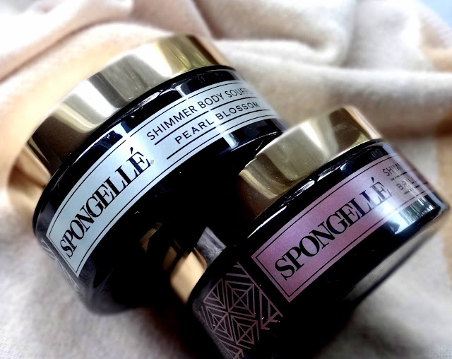 Spongelle Shimmer Souffle Body Butter  Review, Photos