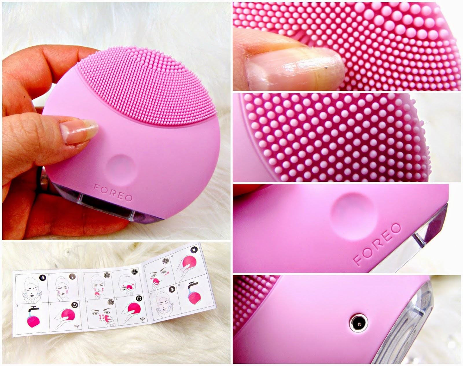 I Tried the Foreo Luna Fofo Cleansing Brush  Review  Allure