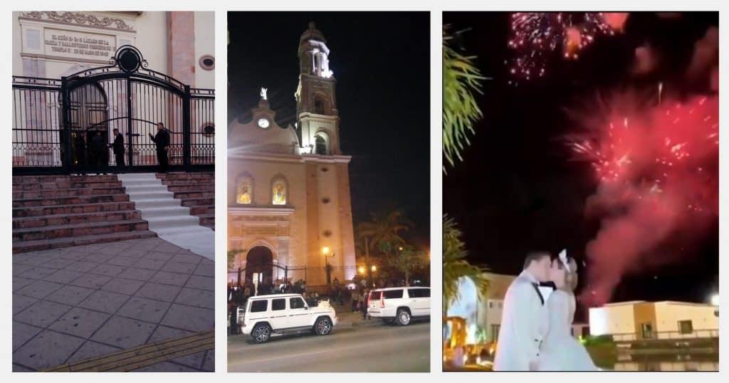 Hija del Chapo se iba a casar justo cuando pasó lo del Culiacanazo al final se casó 3 meses después, ni una sola autoridad apareció
