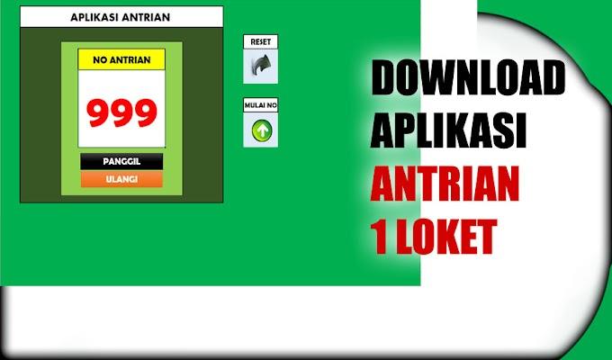 Download Aplikasi Antrian 1 Loket