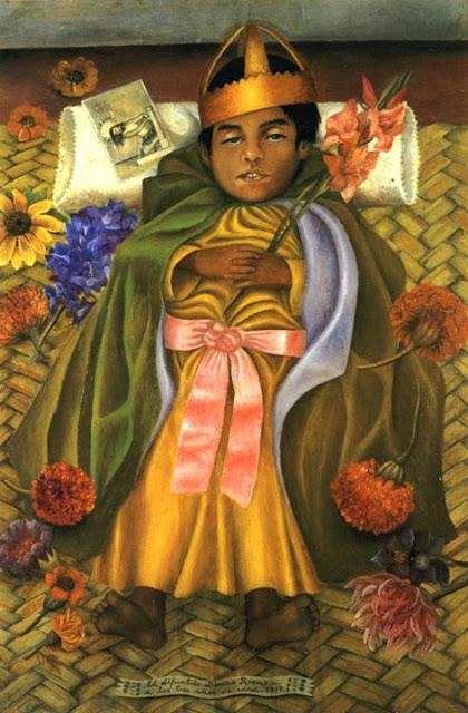 Фрида Кало - умерший Димас. 1937