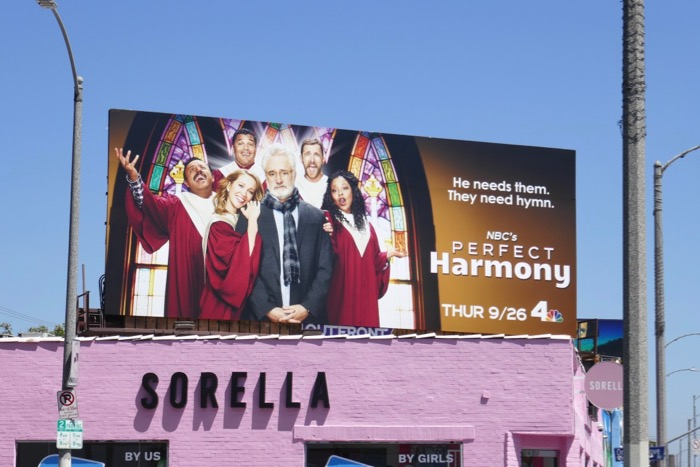 Perfect Harmony series premiere billboard