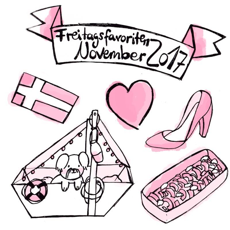 Doodle zu den Freitagsfavoriten November 2017