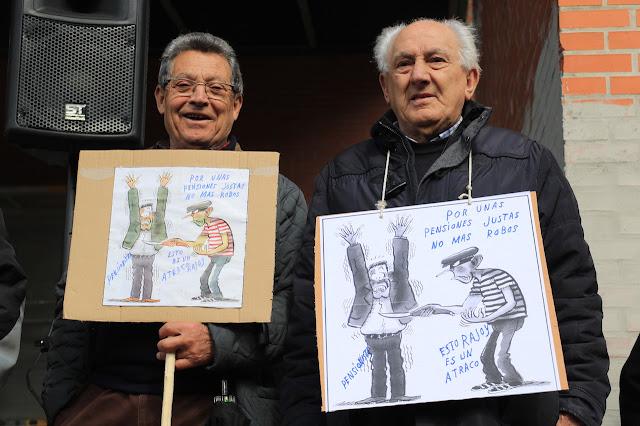 concentración pensionistas