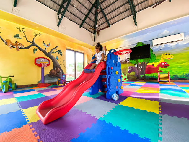 Children's play area in Ibiza Spa and resort
