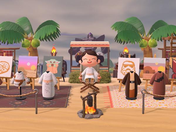 Animal Crossing - My Desert Island