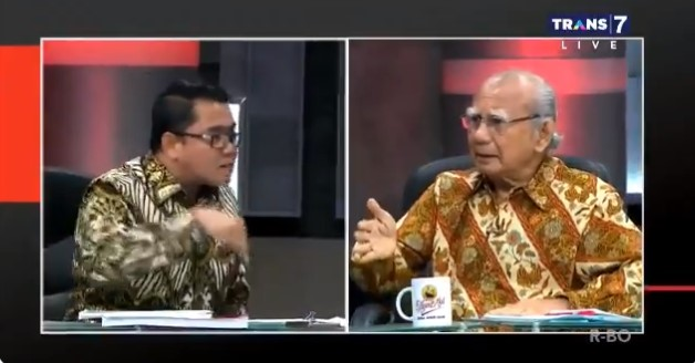 Viral Video Politisi PDIP Arteria Dahlan Bentak-bentak Emil Salim Di Acara Mata Najwa