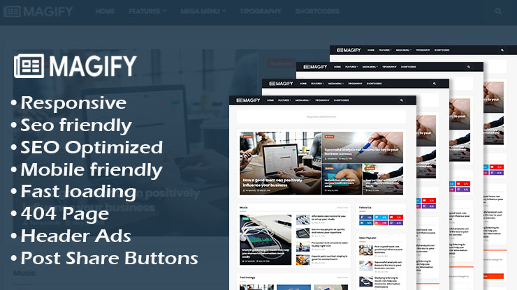 App Business Landing Page Responsive Blogger Template