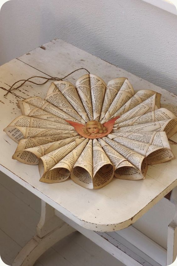image result for farmhouse christmas decorating with stars paper DIY