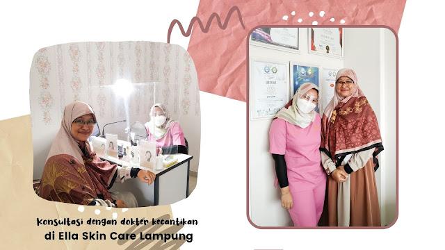 Treatment Korean Glass Lift di Ella Skin Care Lampung