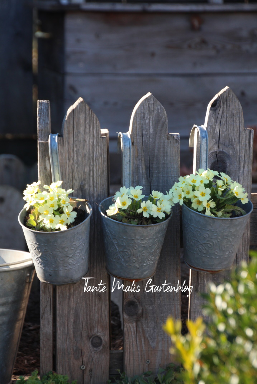 Gartendekoration Frühling