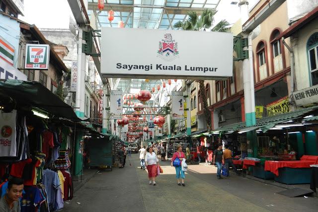 Dzielnica Chińska w Kuala Lumpur