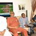 Ekweremadu led a delegation of the PDP Senate Caucus to pay a condolence visit to the family of late  Ojo Maduekwe