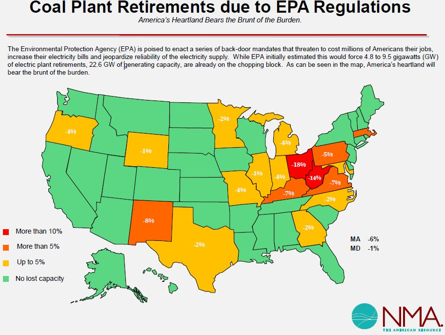 One Promise Obama Is Keeping Hurting The Coal Industry Third - Us coal map