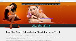 Skye Blue Beauty Burton