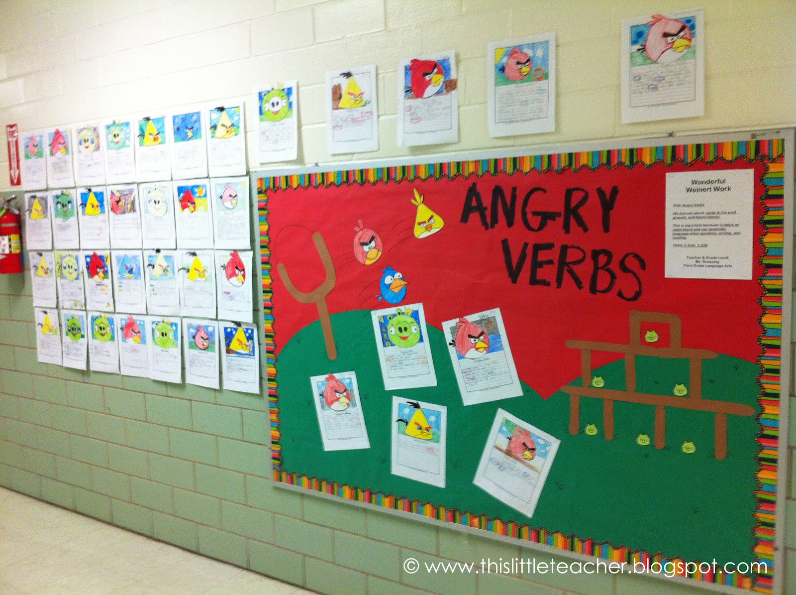 This Little Teacher Angry Verbs