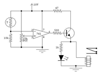 Closed Loop Control Circuit using Sensor and Actuator