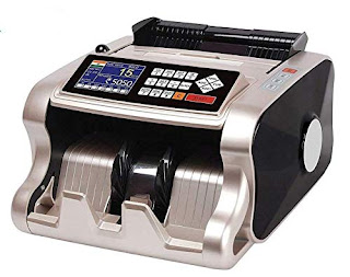Automatic Mix Note Value Counting Machine from Alpha. with Fake Note Detection Heavy Duty.