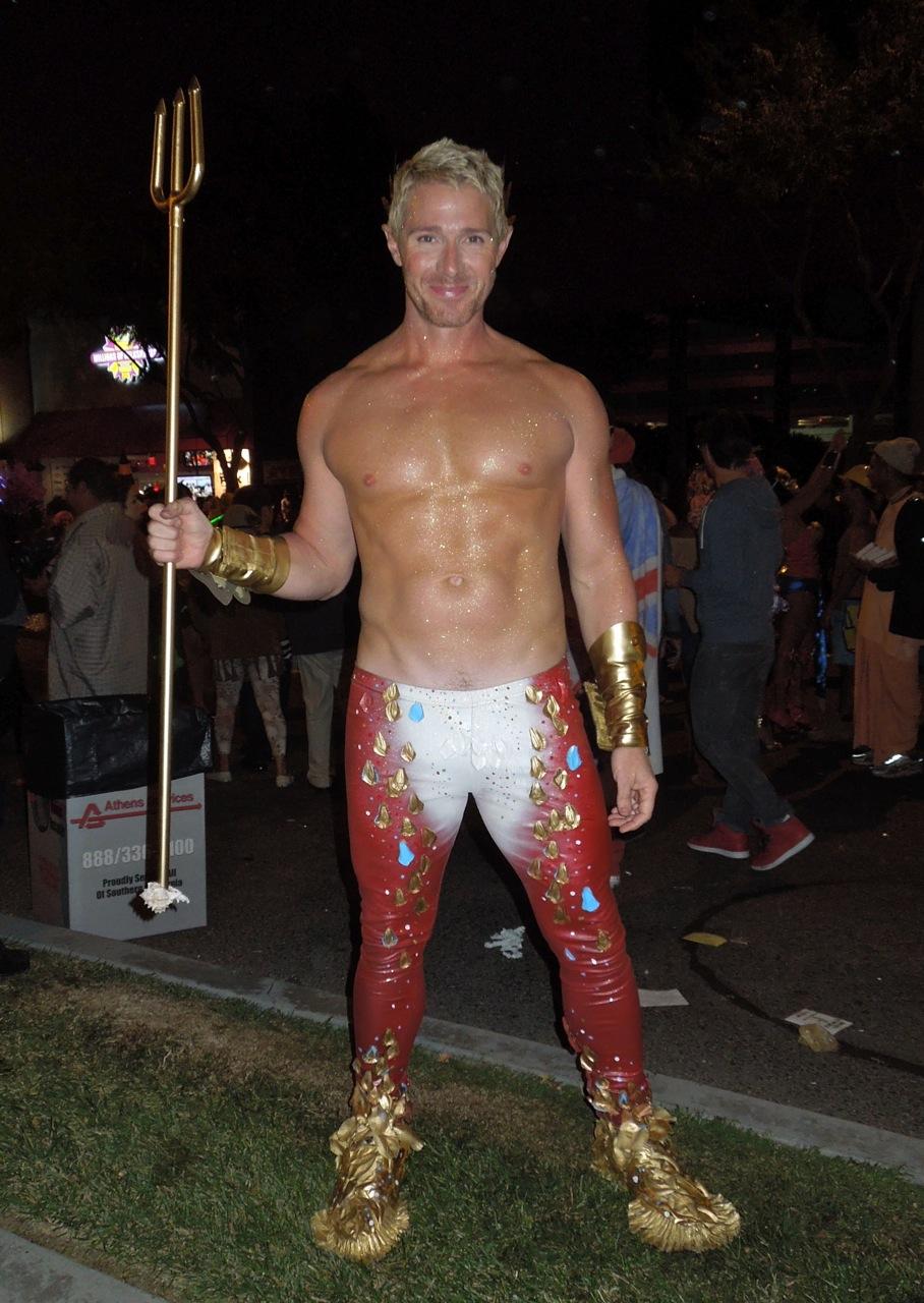 How To Buff A Car >> West Hollywood Halloween Carnaval Poseiden