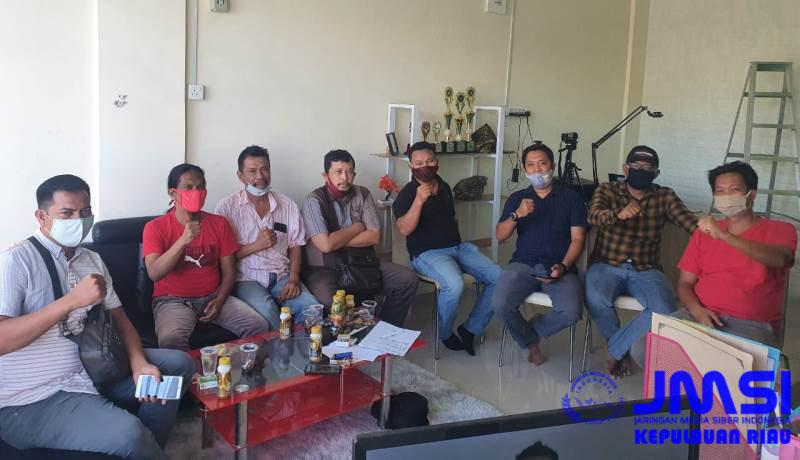 Kepengurusan JMSI Kepri Terbentuk, Eddy: Lebarkan Sayap Dengan Silatulrahmi Merah Putih