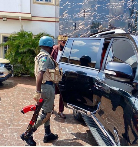 Breaking: See Why IG Withdrew E-money's Police Escort and Orders His Probe
