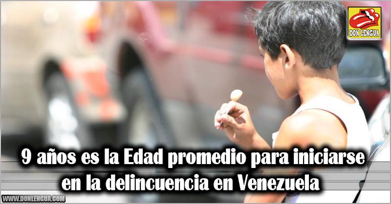 Edad promedio para iniciarse en la delincuencia en Venezuela bajó para los 9 años