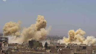 Serangan Bom Bunuh 6 Tentara Syiah Nushairiyah di Daraa