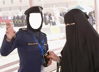 polwan kuwait memeriksa akhwat