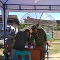Pantau Pendatang, Personil TNI Kunjungi Posko COVID-19