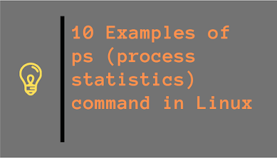 ps command examples in Linux