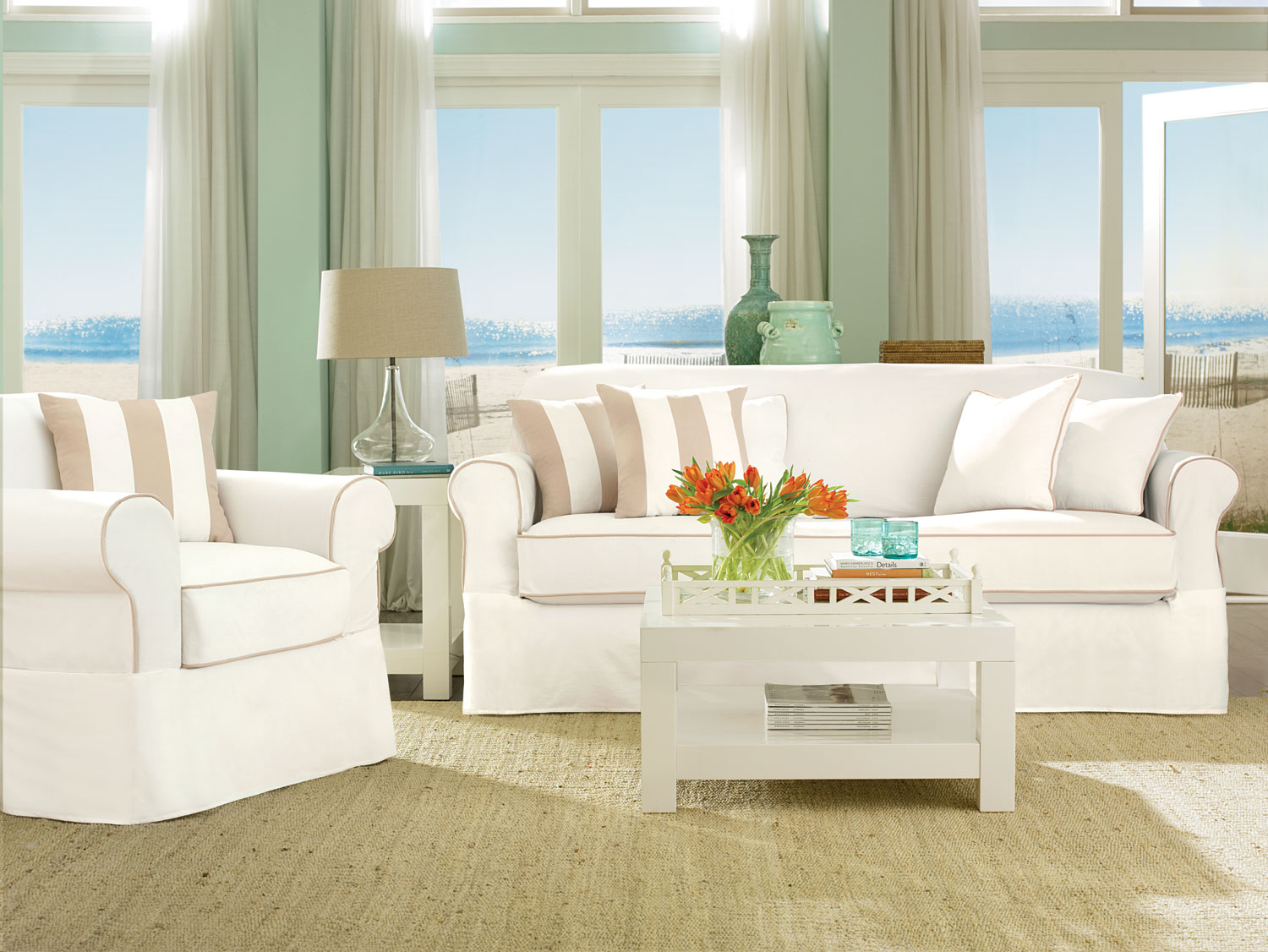 Sure Fit Slipcovers Our New Summer 2013 Sure Fit