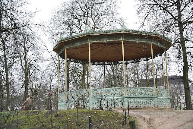 Schönes Ding im Park