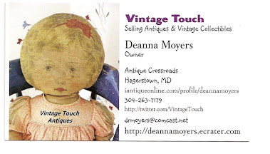 Vintage Touch Business Card