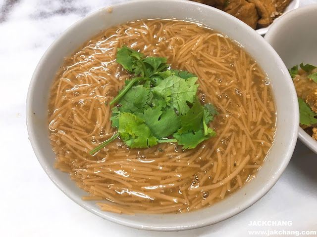 Vermicelli (not excluding large intestine and oyster)
