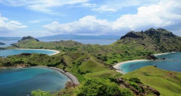 Panorama Padar Island