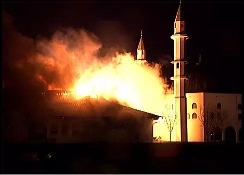 Sebuah Masjid Dibakar Teroris di Belanda