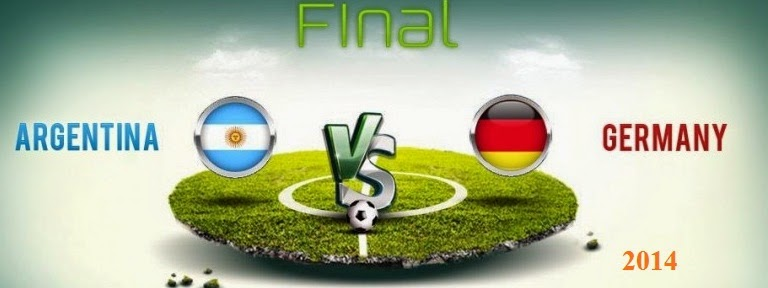 Argentina Vs Germany in World Cup 2014