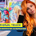 Motivational Touch: Expressing Her Motivation in Inspiration and Pattern Setting Photo-shoots