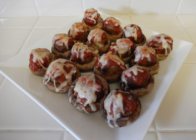 Eggface%2BMeatball%2BStuffed%2BMushrooms%2B1 Weight Loss Recipes Healthy and Easy Holiday Party Recipes