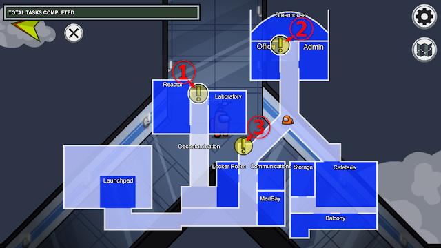 廊下のタスクマップ説明画像
