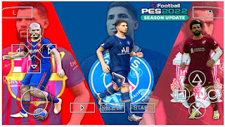Download PES 2022 PPSSPP Update Full Transfer Best HD Graphics & Peter Drury Commentary