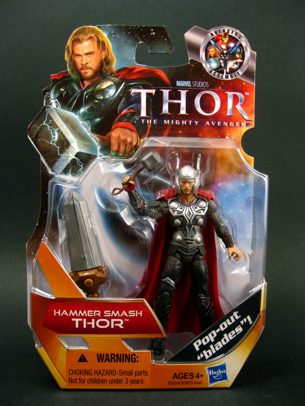 chase variant thor the mighty avenger 3 75 hammer smash thor