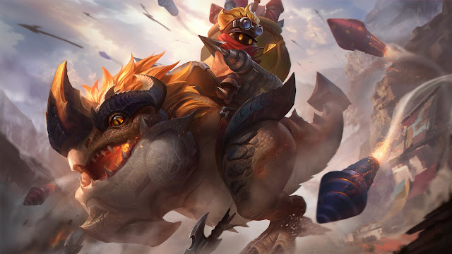 Barats Dino Rider Heroes Tank Fighter of Skins ML HD Wallpapers