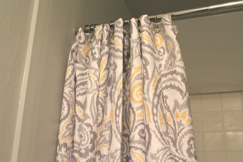decorticosis yellow grey curtains target