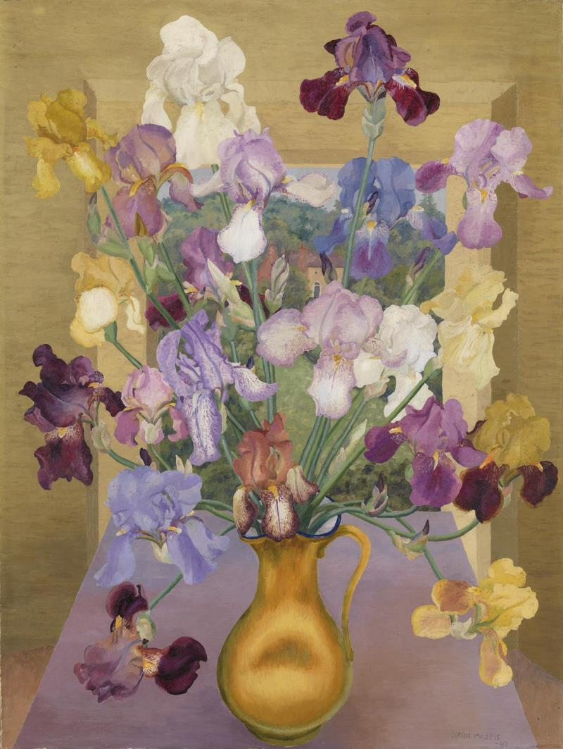 Iris Seedlings, 1943 Cedric Morris