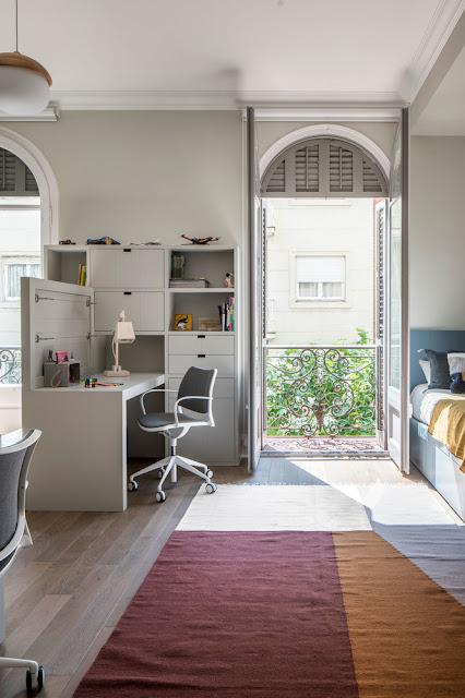 Дизайн-проекты. Гармоничный и элегантный интерьер в Барселоне
