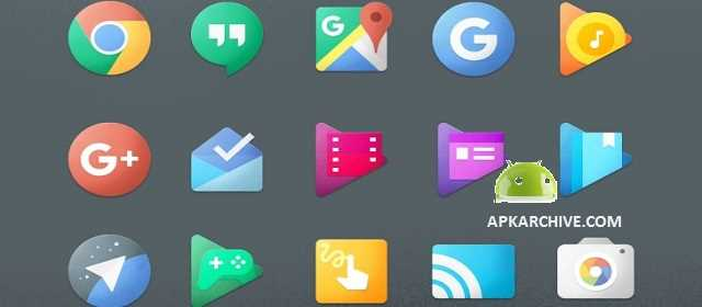 Chromatin UI – Icon Pack Android Apk indir