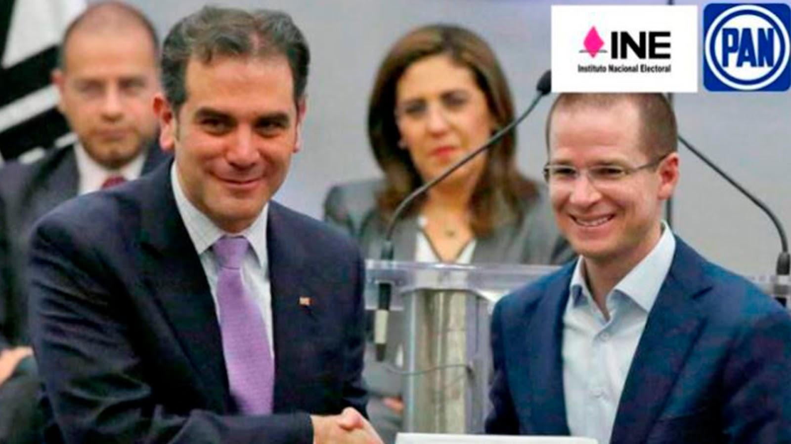 """INE se niega a sancionar al PAN y le """"perdona"""" multa por millonaria donación a Anaya en el 2018"""