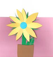 DIY blomsterkort